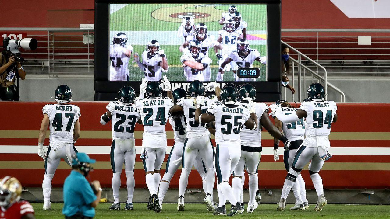 Defense: Philadelphia Eagles - 20 Punkte - Bildquelle: 2020 Getty Images