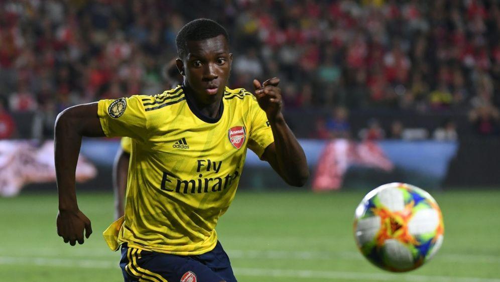 Nketiah erzielte das 2:0 beim Sieg der Gunners - Bildquelle: AFPSIDMARK RALSTON