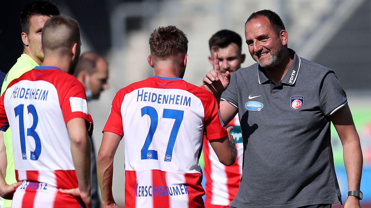 Pro 1. FC Heidenheim: Außenseiter verspürt keinen Druck - Bildquelle: Getty Images