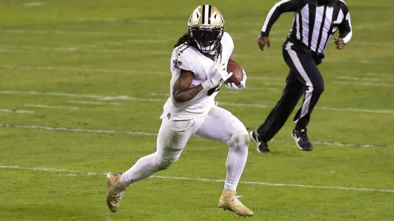 Platz 7: Alvin Kamara (Running Back, New Orleans Saints) - Bildquelle: imago images/Icon SMI