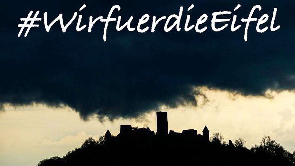 """Unter dem Hashtag """"Wir für die Eifel"""" haben sich zahlreiche Motorsportler ve... - Bildquelle: WirfürdieEifel"""