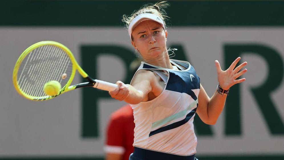 Barbora Krejcikova gewinnt das Finale der French Open - Bildquelle: Getty Images