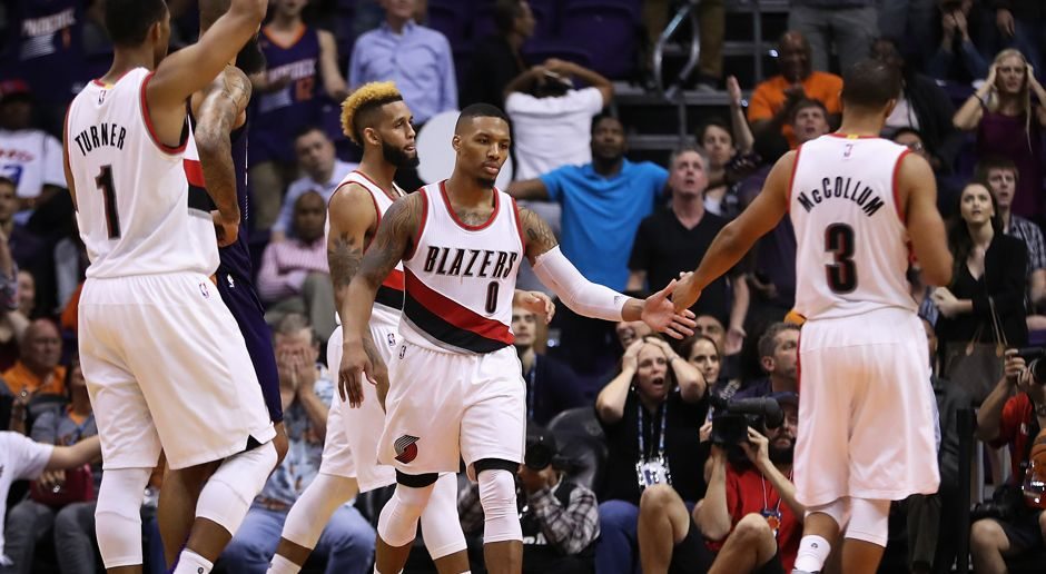 Platz 6: Portland Trail Blazers (Basketball) - Bildquelle: getty images