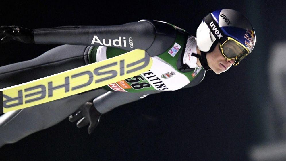 Wellinger springt als bester Deutscher auf Platz 14 - Bildquelle: AFPSID