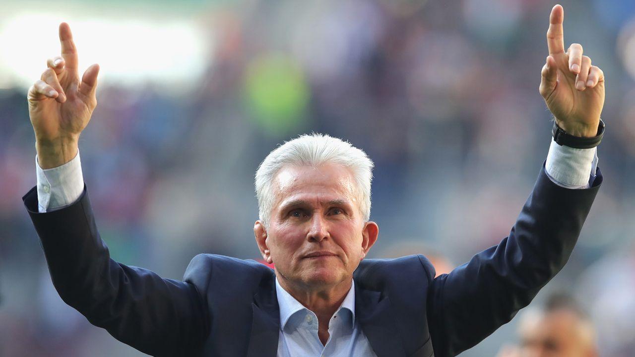 Trainer: Jupp Heynckes - Bildquelle: 2018 Getty Images