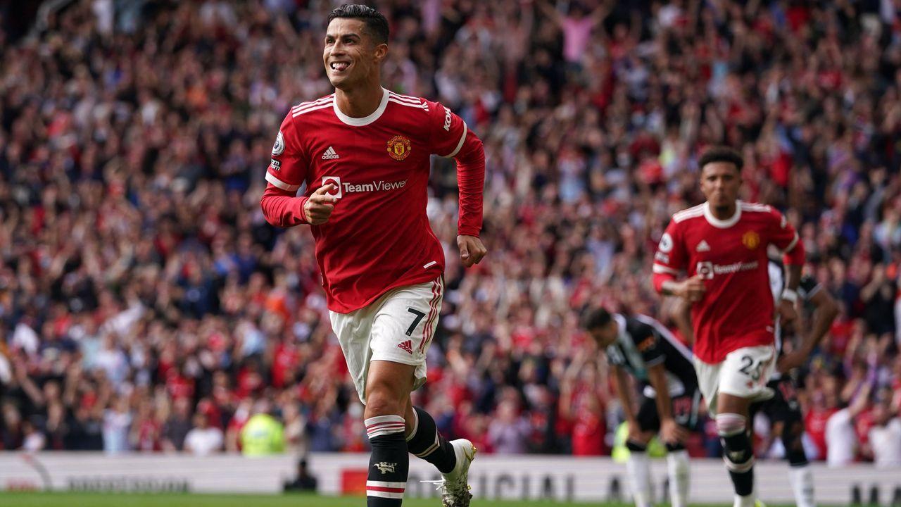 Doppelpack von Cristiano Ronaldo: So lief das CR7-Comeback bei Manchester United - Bildquelle: imago images/PA Images