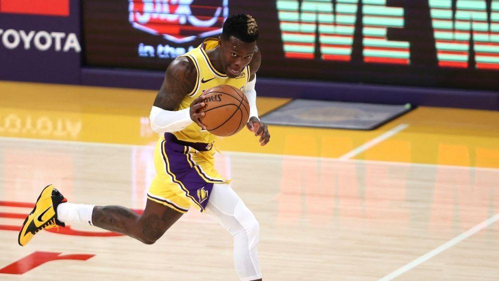 Dennis Schröder und die Lakers verlieren - Bildquelle: GETTY IMAGES NORTH AMERICAGETTY IMAGES NORTH AMERICASIDSEAN M. HAFFEY