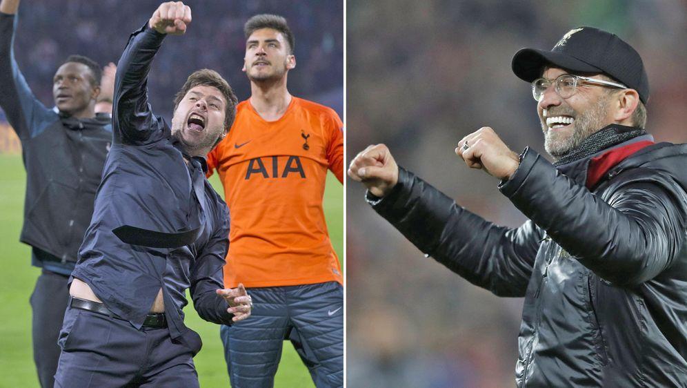 Mauricio Pochettino (l.) und die Tottenham Hotspur treffen am Samstag im Fin... - Bildquelle: imago