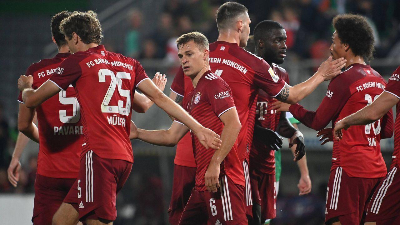 Die Noten der Bayern-Stars gegen Fürth