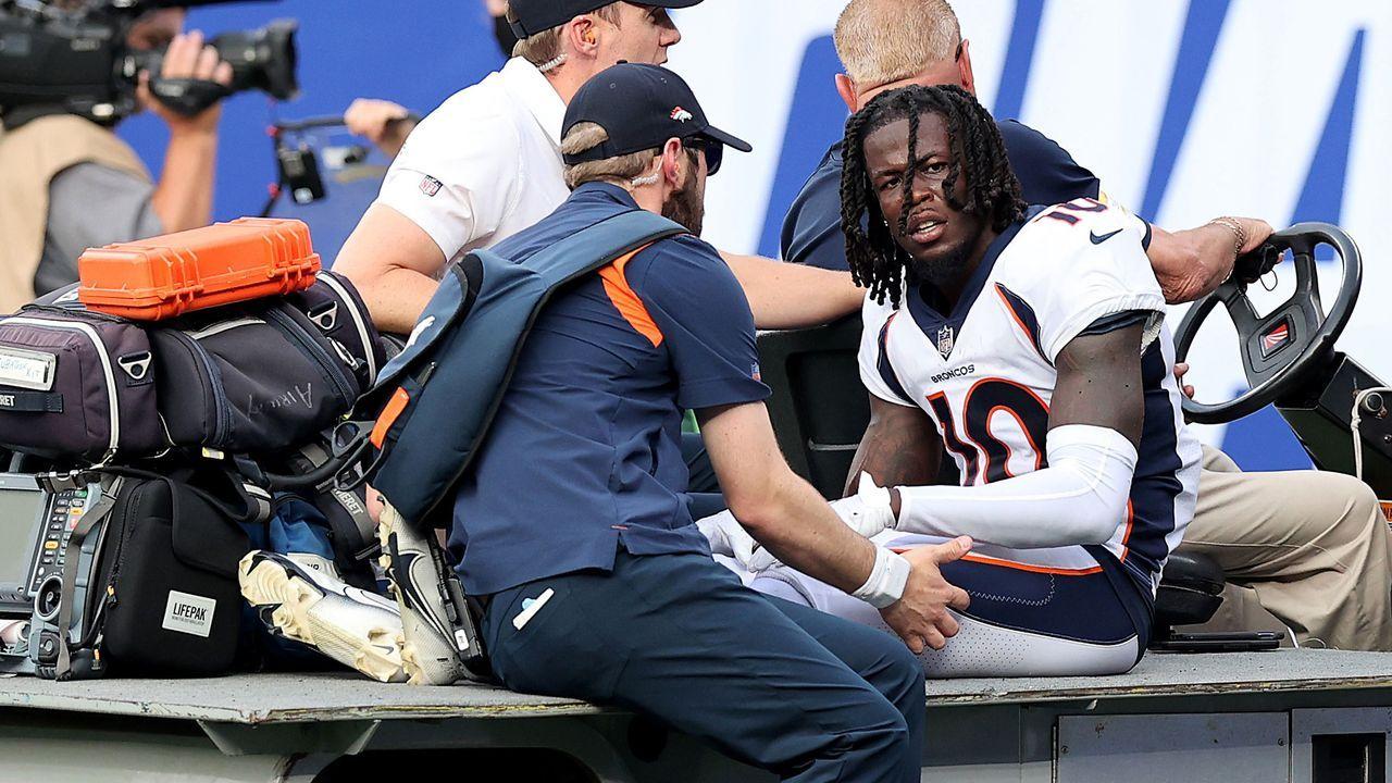Jerry Jeudy (Denver Broncos) - Bildquelle: 2021 Getty Images