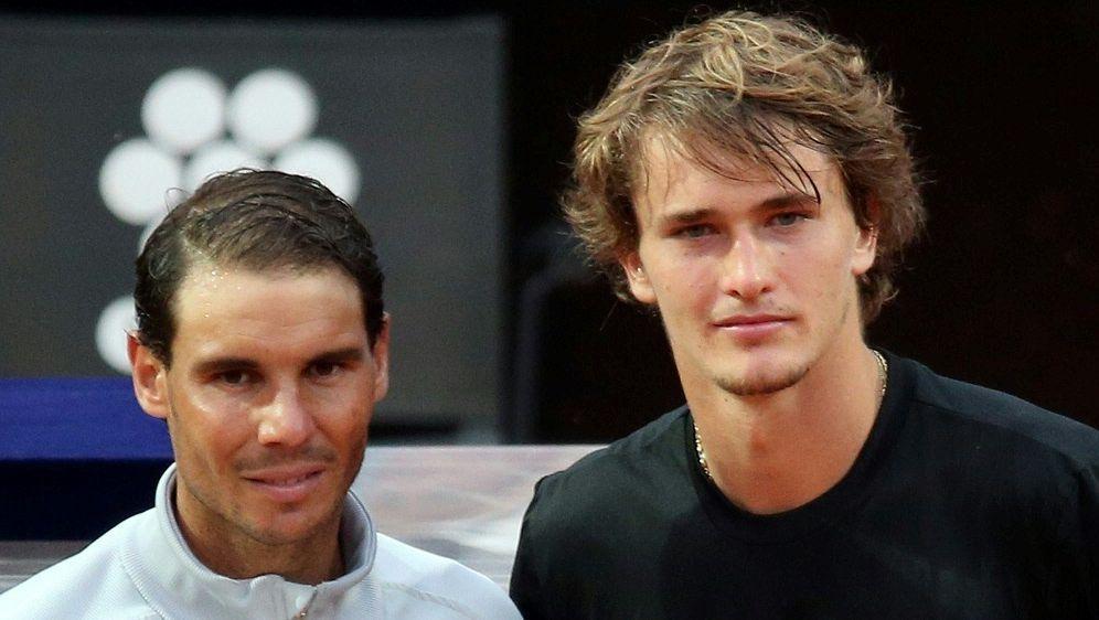 Saisonfinale: Alexander Zverev (r.) trifft auf Nadal - Bildquelle: PIXATHLONPIXATHLONSID