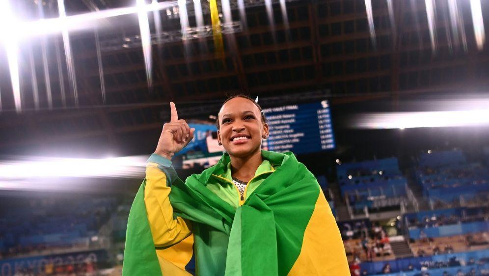 Andrade holt erste Goldmedaille Brasiliens im Turnen - Bildquelle: AFPSIDLOIC VENANCE