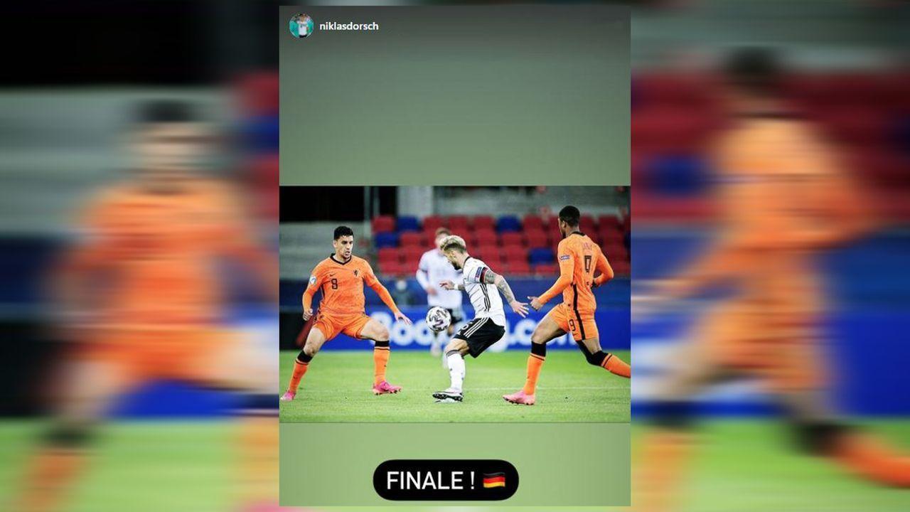 EM-Finale! Die Partybilder der deutschen U21 - Bildquelle: Instagram: Niklas Dorsch