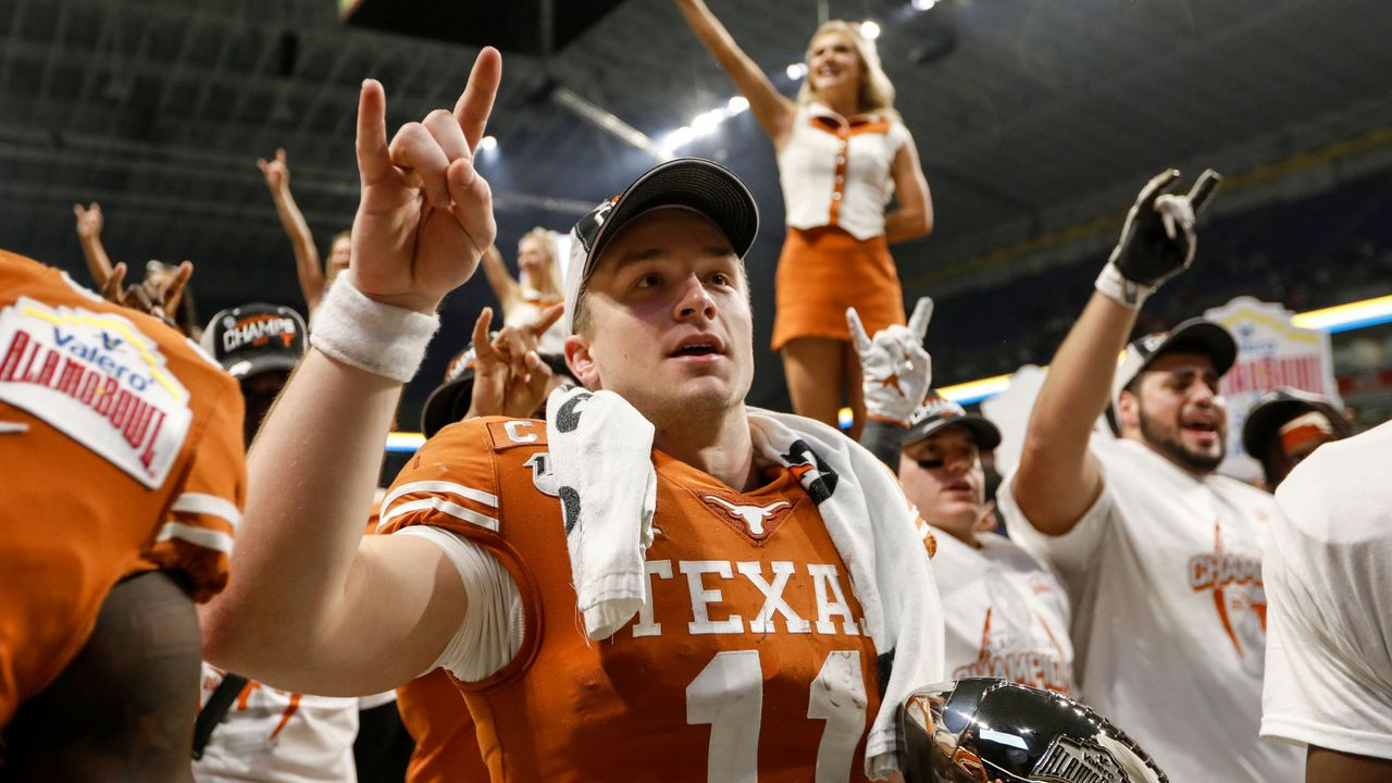 Sam Ehlinger (Texas Longhorns) - Bildquelle: 2019 Getty Images