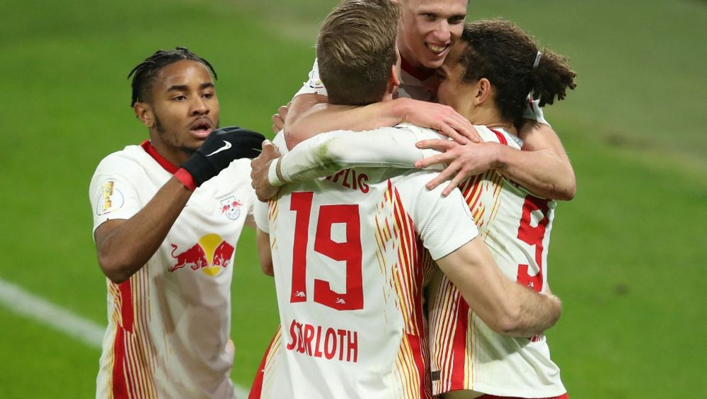 Souverän im DFB-Pokal-Halbfinale: RB Leipzig - Bildquelle: AFPPOOLSIDRONNY HARTMANN
