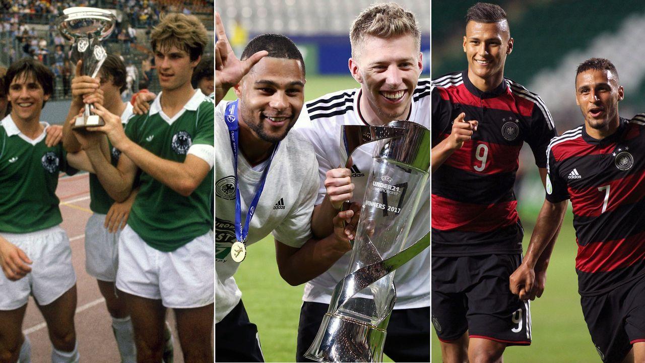 DFB: Die Erfolge der deutschen U-Nationalmannschaften - Bildquelle: Imago