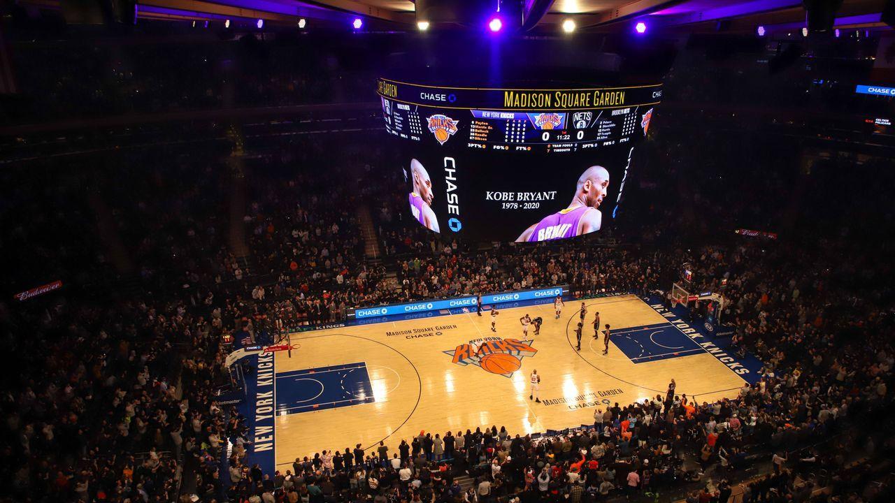 NBA feiert Kobe mit verschiedenen Aktionen  - Bildquelle: imago images/ZUMA Press