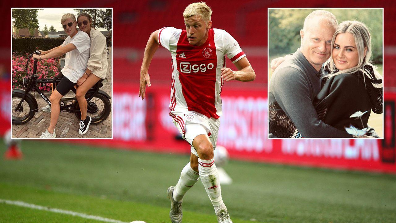Donny van de Beek und Estelle Bergkamp - Bildquelle: Getty Images/instagram@estellebergkamp/instagram@donnyvdbeek