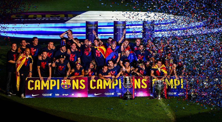 Platz 3: FC Barcelona - Bildquelle: 2015 Getty Images