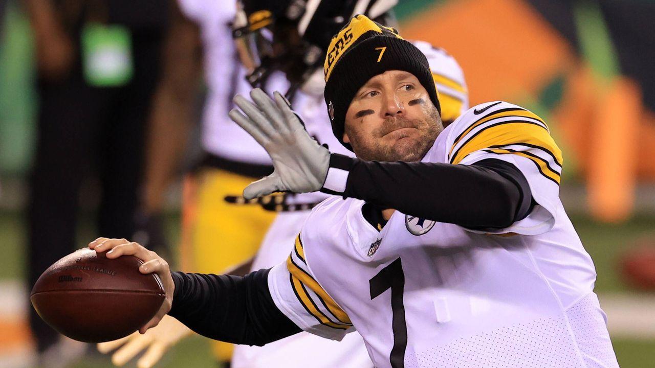 Quiz-Time! Ben Roethlisberger lernt neues Steelers-Playbook mit seiner Tochter - Bildquelle: IMAGO / Icon SMI