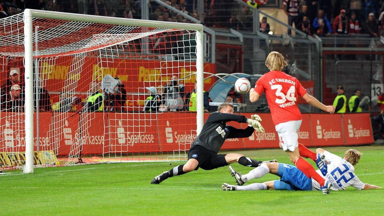 Platz 5 (geteilt): Energie Cottbus - Karlsruher SC 5:5 (13.09.2010) - Bildquelle: imago sportfotodienst