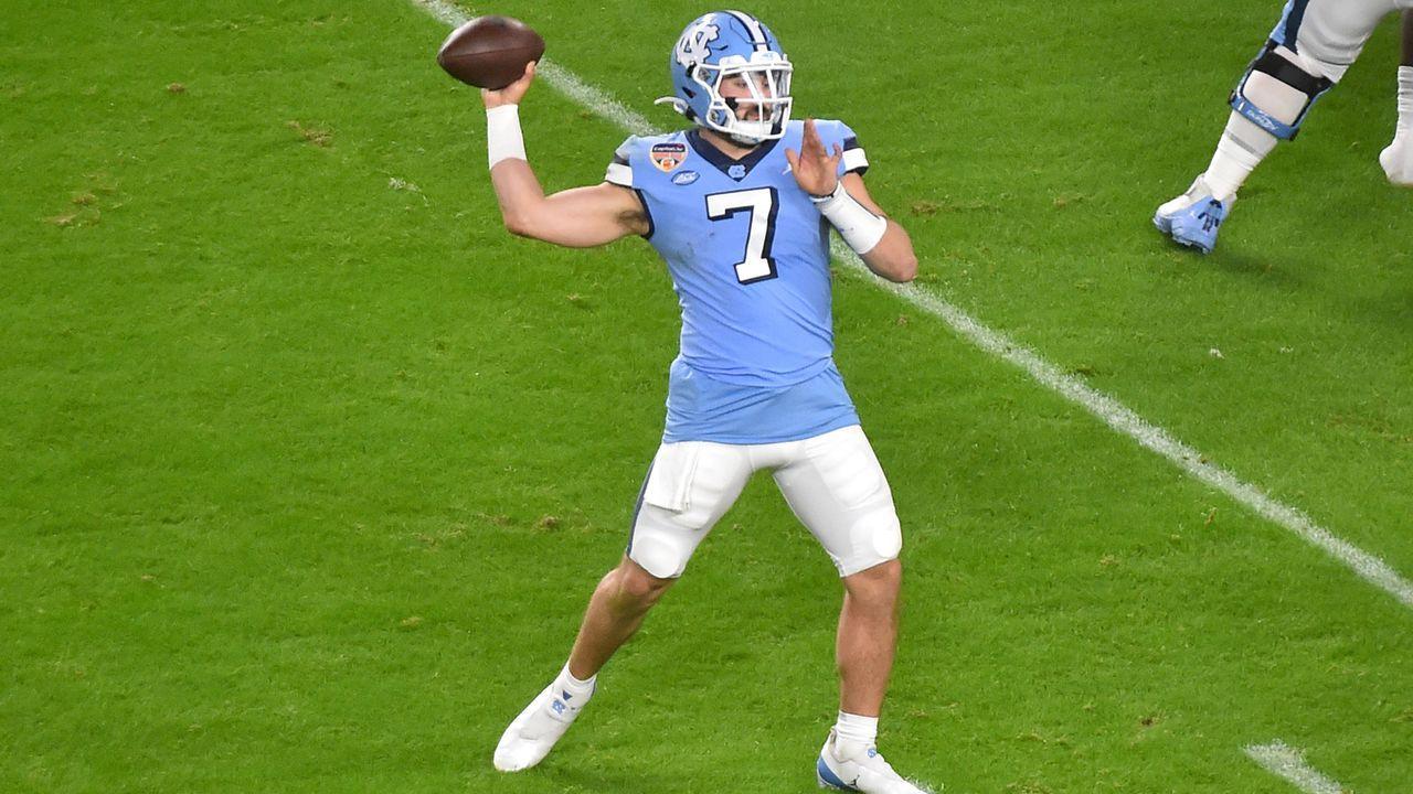 Sam Howell (Quarterback, North Carolina Tar Heels) - Bildquelle: 2021 Getty Images