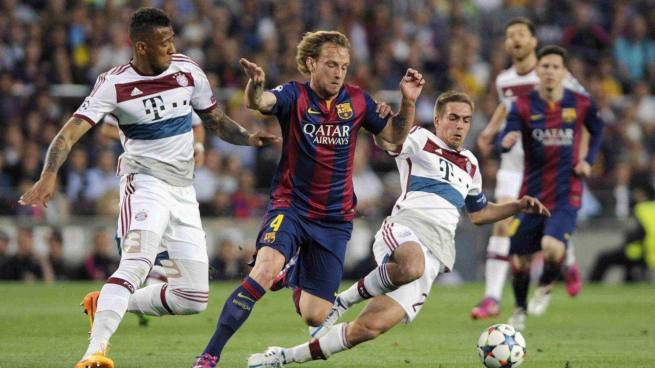 2014/2015: FC Barcelona gegen FC Bayern (Halbfinale)  - Bildquelle: imago