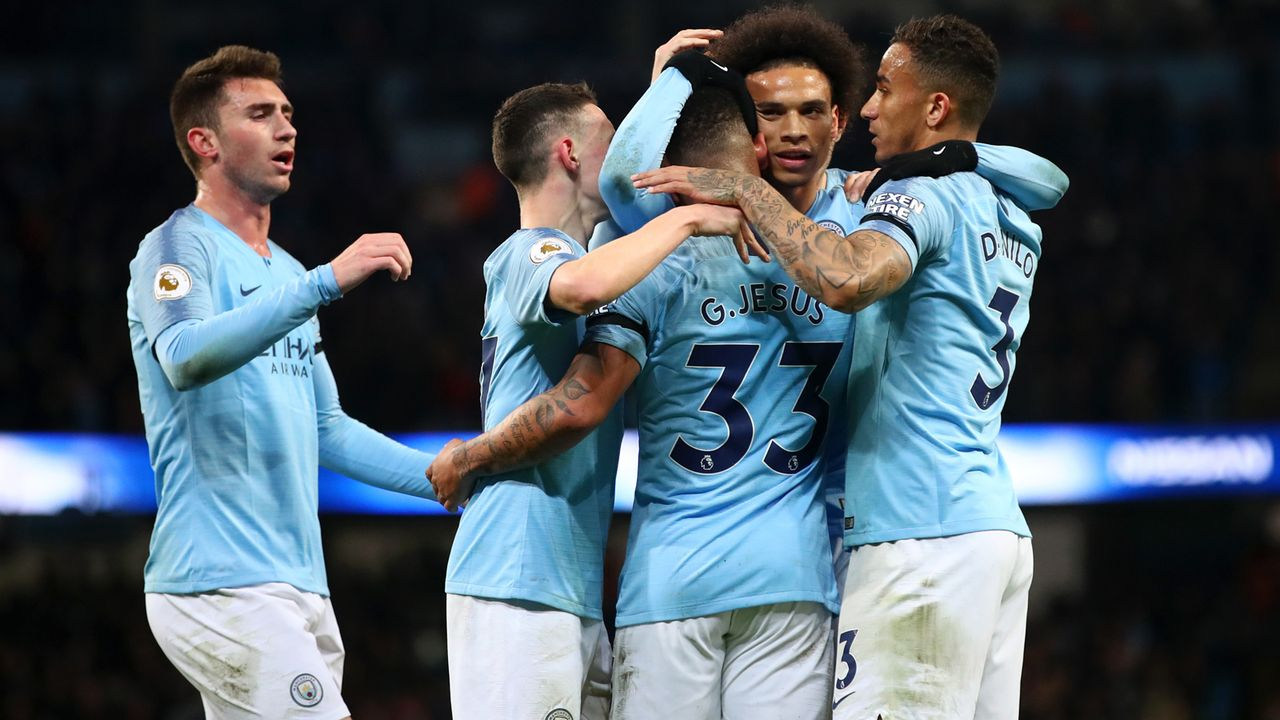 Platz 3 - Manchester City - Bildquelle: 2019 Getty Images