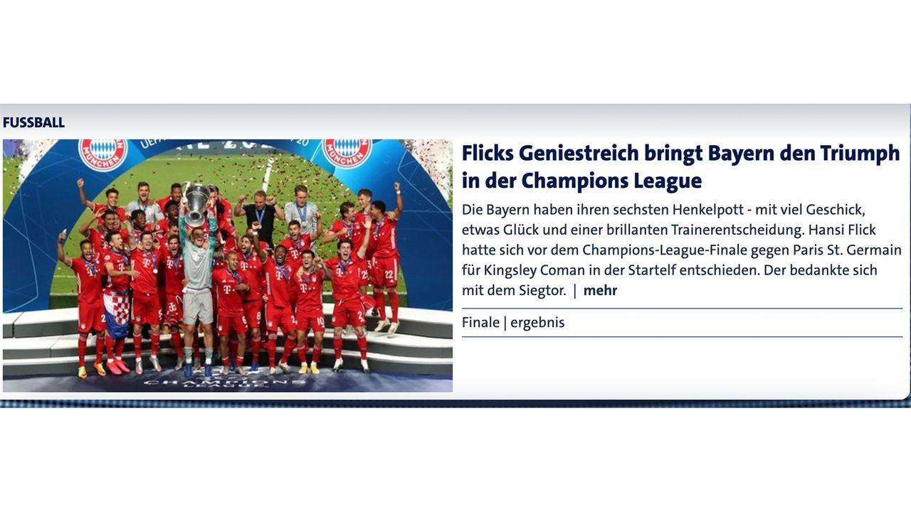 Deutschland - Bildquelle: sportschau.de