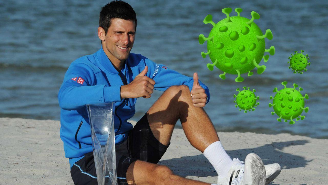 """Novak Djokovic - """"Scheiss Drauf!"""" (Peter Wackel) - Bildquelle: imago"""