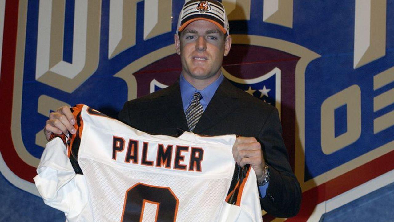 NFL Draft 2003: Carson Palmer - Bildquelle: 2003 Getty Images