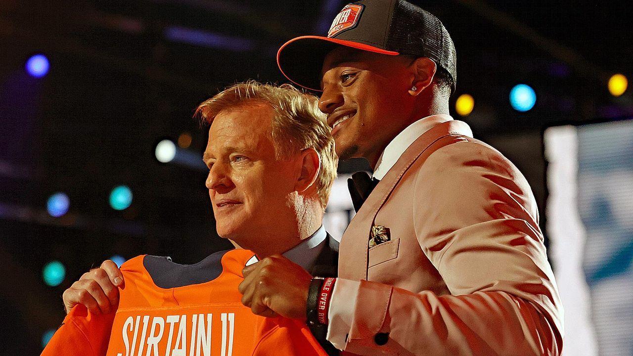 9. Pick - Patrick Surtain II (Cornerback, Denver Broncos) - Bildquelle: 2021 Getty Images