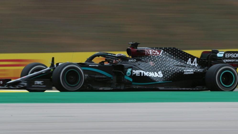 Rekord: Lewis Hamilton holt den 92. Grand-Prix-Sieg - Bildquelle: POOLAFPSIDJOSE SENA GOULAO