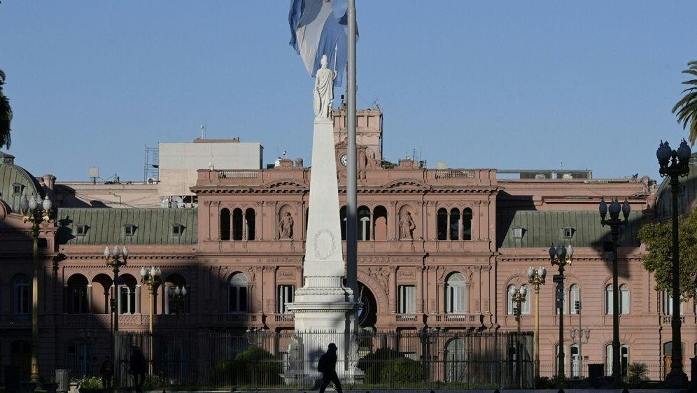 Maradonas Leichnam wird im Präsidentenpalast aufgebahrt - Bildquelle: AFPSIDJUAN MABROMATA
