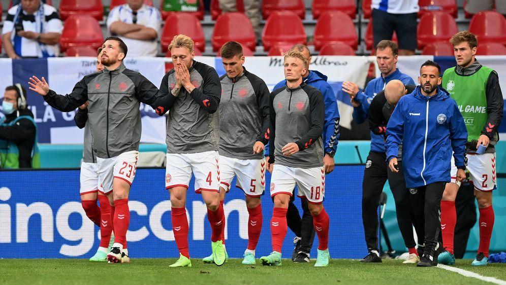 Simon Kjaer während des Spiels gegen Finnland - Bildquelle: imago images/Ritzau Scanpix