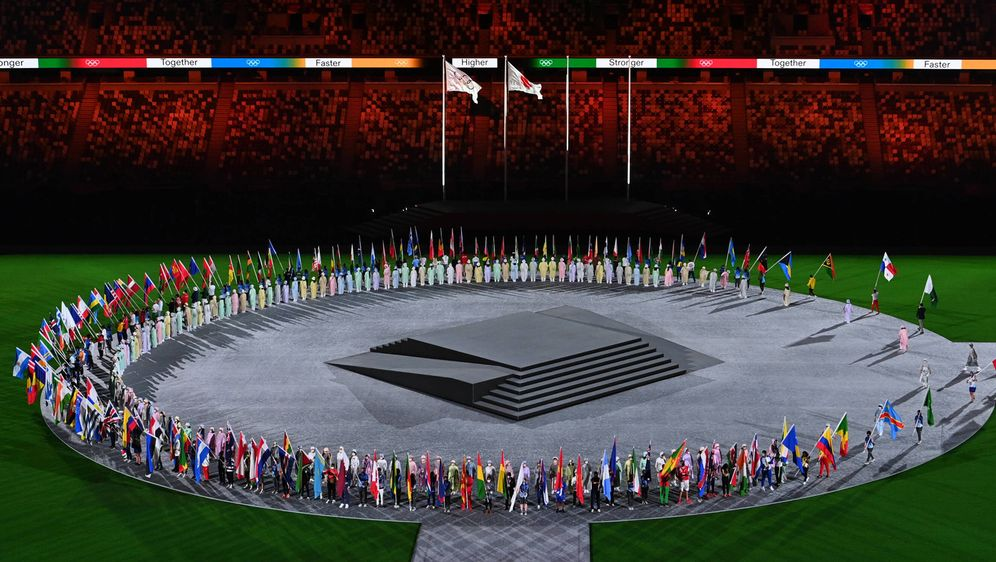 Die Olympischen Sommerspiele sind mit der Abschlussfeier zu Ende gegangen - Bildquelle: imago images/Belga