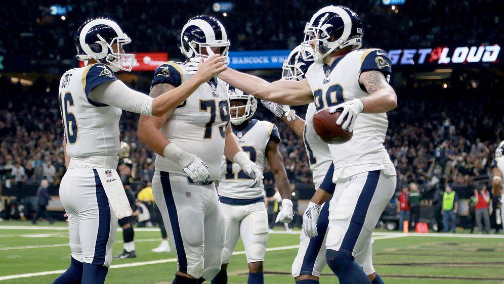2ea6de4d Overtime-Krimi gegen die Saints: L.A. Rams stehen im Super Bowl