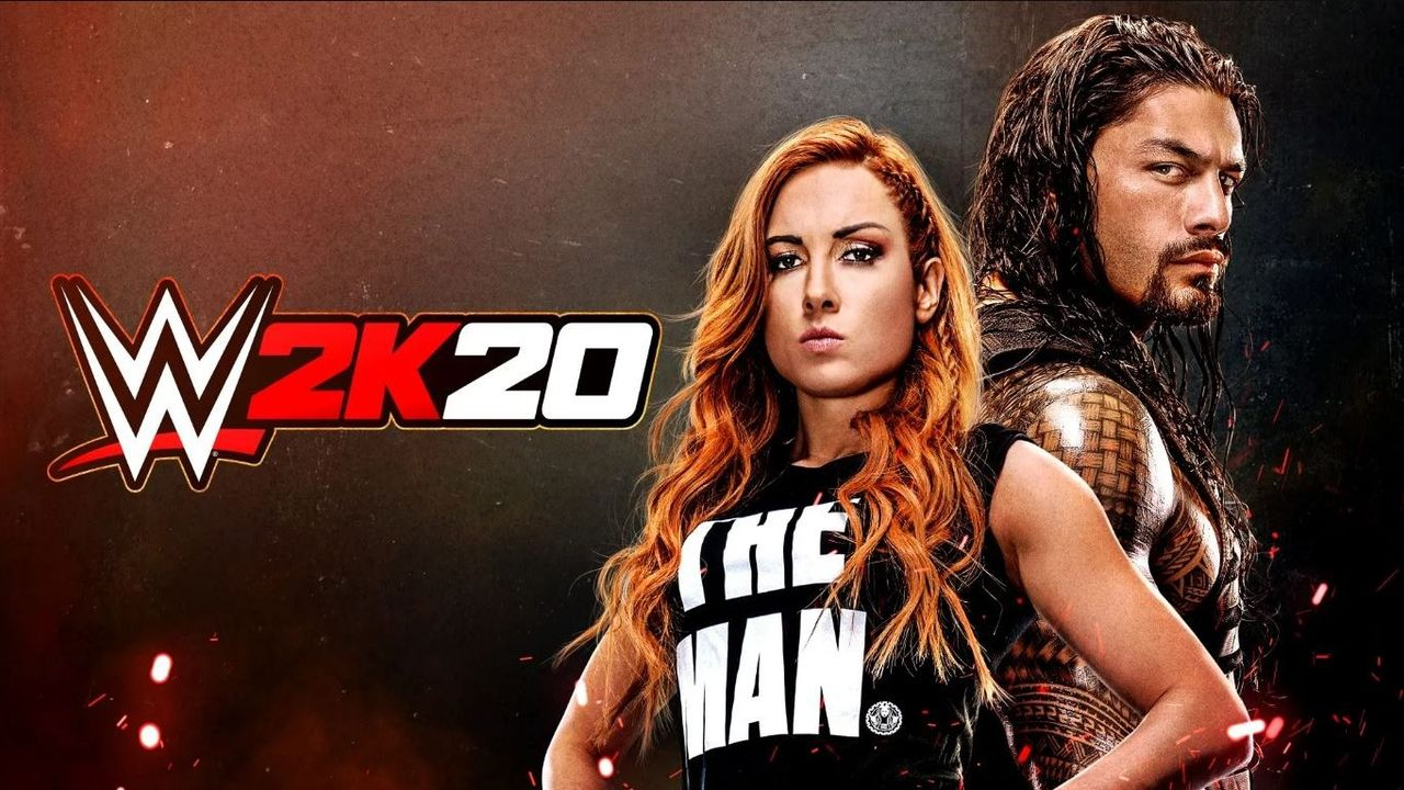 WWE 2K20 (2K Sports)  - Bildquelle: WWE 2K, twitter: @WWEgames