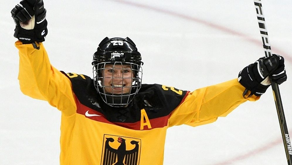 Franziska Busch spielte selbst für die DEB-Auswahl - Bildquelle: AFPSIDJONATHAN NACKSTRAND