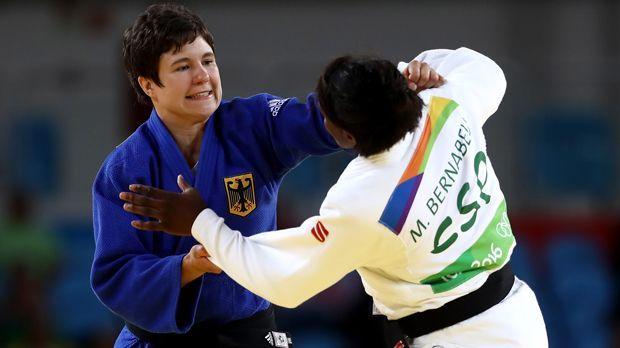 Laura Vargas-Koch (Judo/Bronze) - Bildquelle: 2016 Getty Images