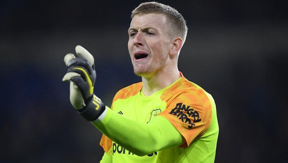 Evertons Keeper Jordan Pickford soll in eine Kneipen-Schlägerei verwickelt g... - Bildquelle: 2019 Getty Images
