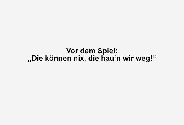 Die können nix! - Bildquelle: ran.de