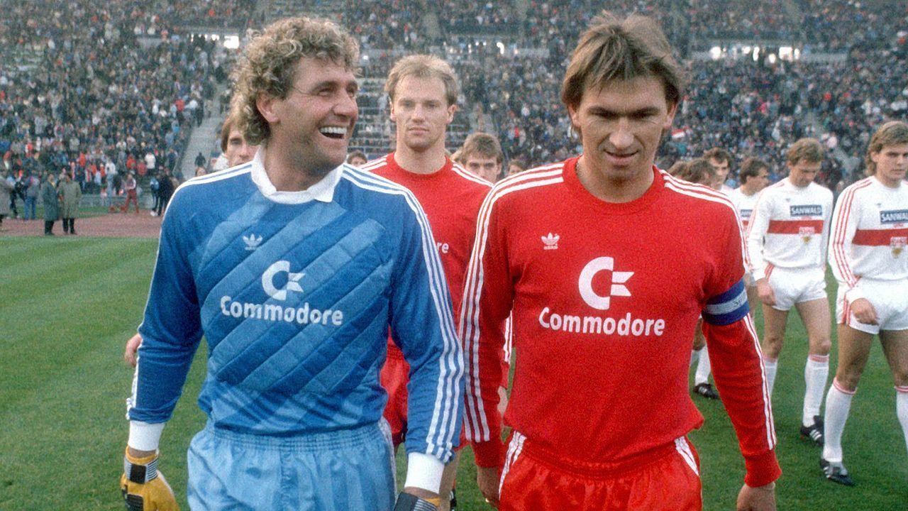 Heimtrikot der Saison 1986/87 - Bildquelle: Imago
