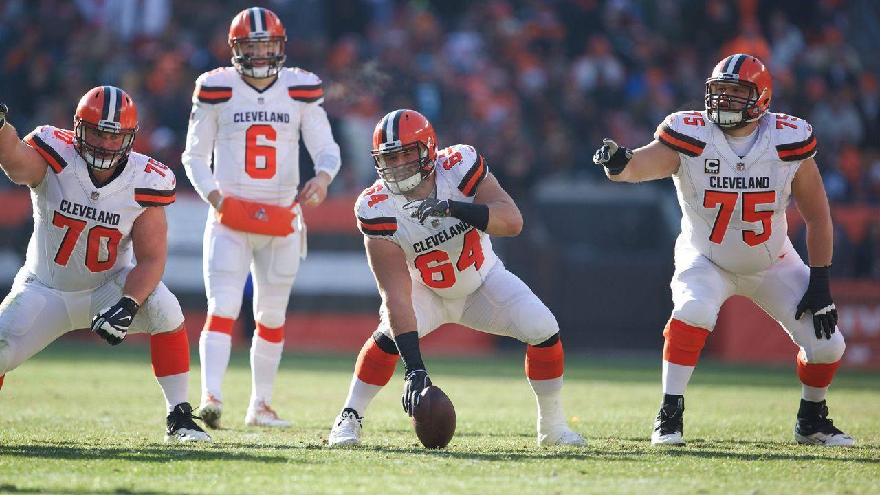 Platz 7: Cleveland Browns - Bildquelle: imago/ZUMA Press