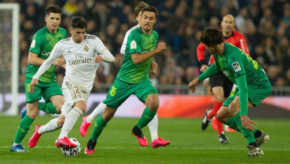 Leihspieler Martin Ödegaard erzielte ein Tor gegen Real - Bildquelle: AFPSIDJAVIER SORIANO