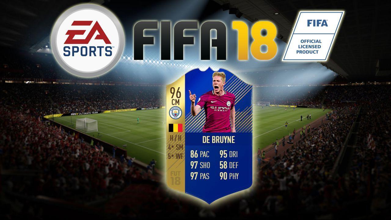 Kevin de Bruyne - Bildquelle: EA Sports
