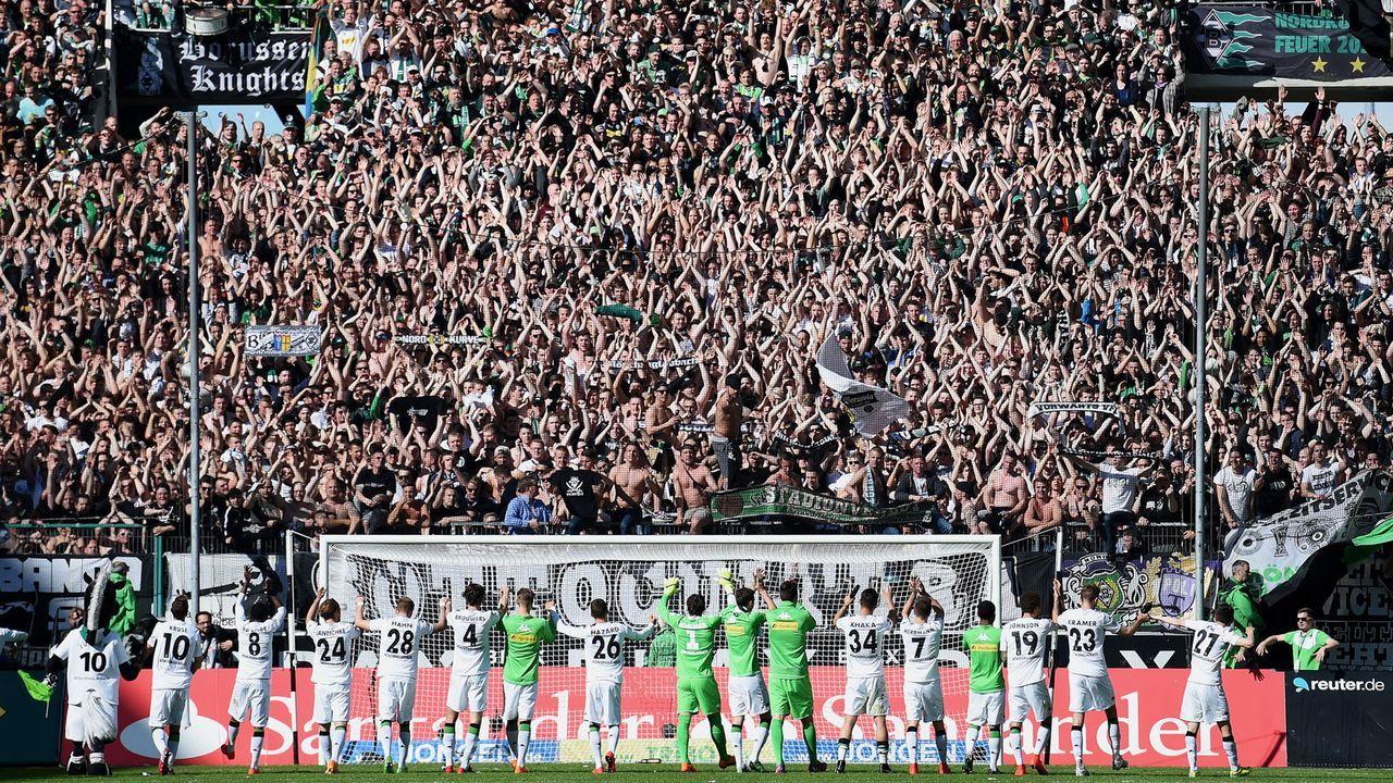 Borussia Mönchengladbach - Bildquelle: 2015 Getty Images