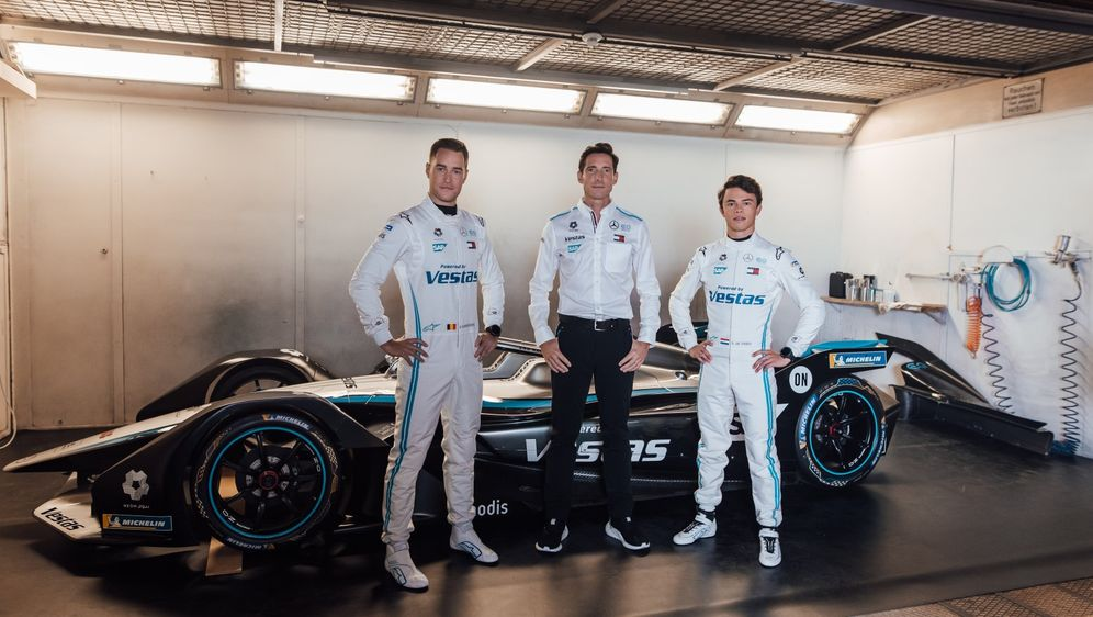 Mercedes-Benz EQ Formel E Team. - Bildquelle: Mercedes Benz
