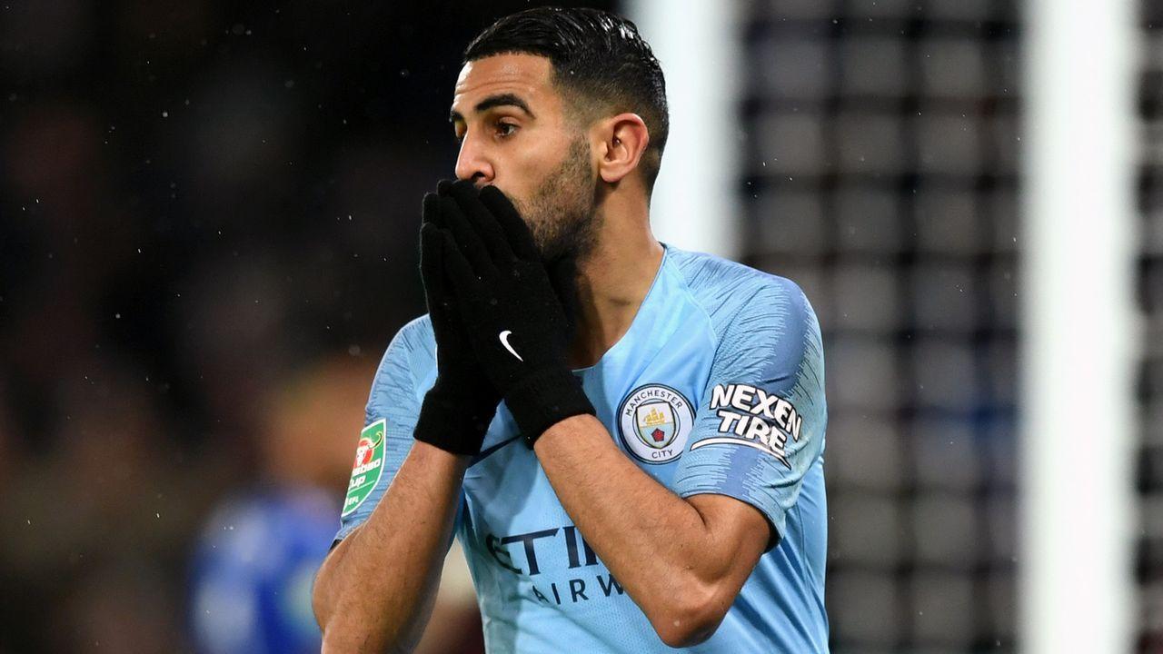 Platz 5 - Riyad Mahrez (Manchester City) - Bildquelle: 2018 Getty Images