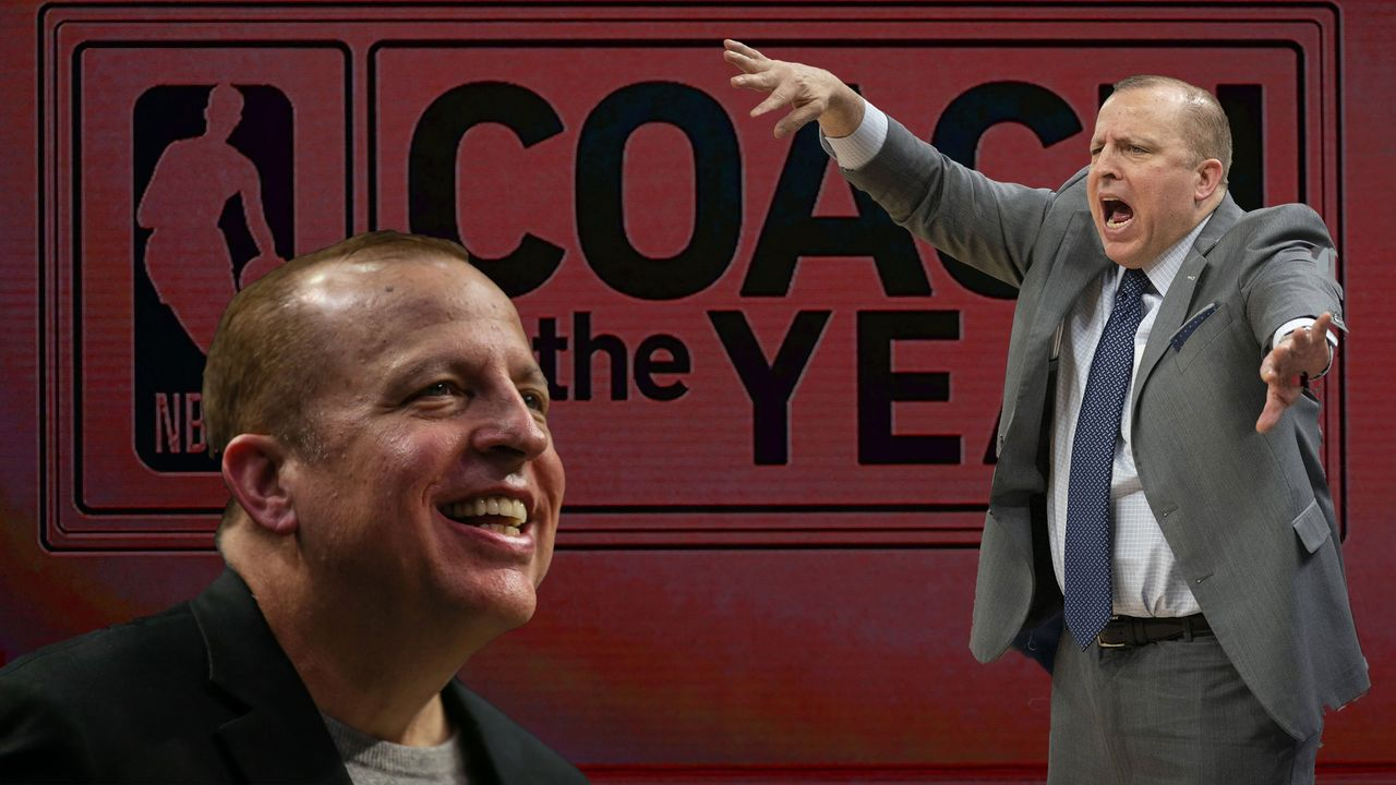 Coach of the Year: Tom Thibodeau (New York Knicks) - Bildquelle: 2019 Getty Images